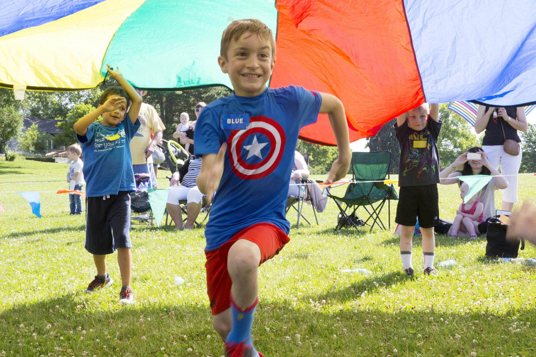 Principal Burnett Tackles Structuring Kids' Lives in Presentation