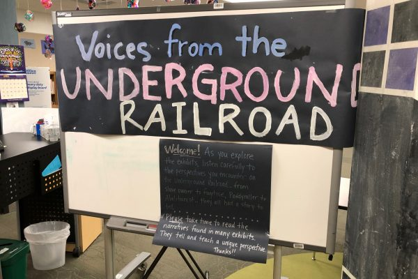 Video: 9/10s Present 'Voices from the Underground Railroad'