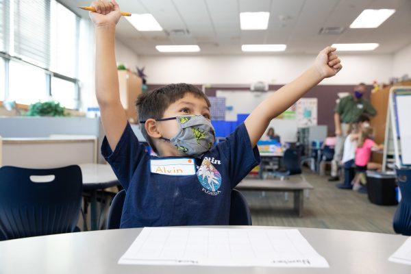Kindergarten Jumpstart Introduces New Falcons to Downtown School